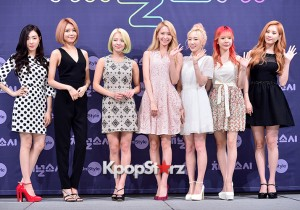 Girls' Generation[SNSD] at a Press Conference of OnStyle Channel SNSD