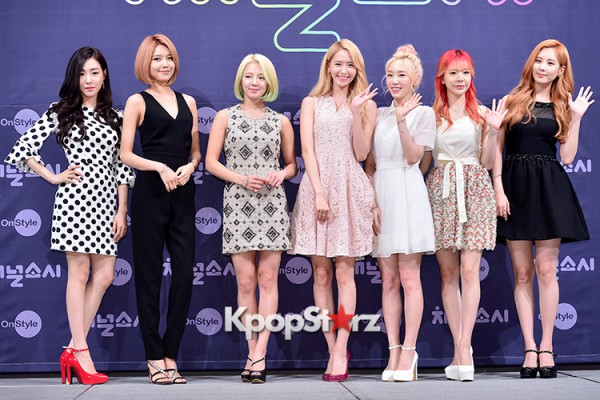 Girls' Generation[SNSD] at a Press Conference of OnStyle Channel SNSD key=>0 count23