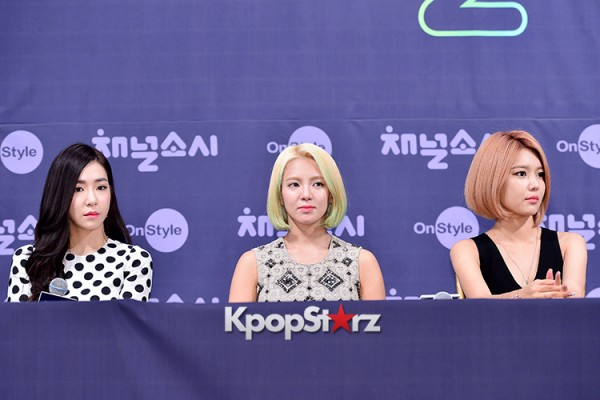 Girls' Generation[SNSD] at a Press Conference of OnStyle Channel SNSD key=>8 count23