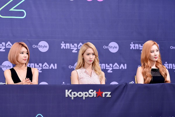Girls' Generation[SNSD] at a Press Conference of OnStyle Channel SNSD key=>9 count23