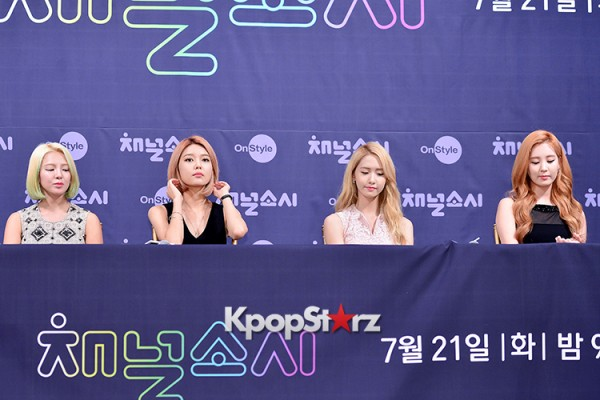 Girls' Generation[SNSD] at a Press Conference of OnStyle Channel SNSD key=>10 count23