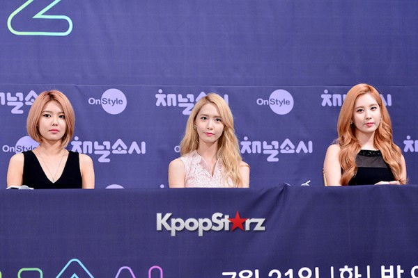 Girls' Generation[SNSD] at a Press Conference of OnStyle Channel SNSD key=>11 count23