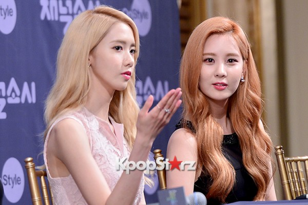 Girls' Generation[SNSD] at a Press Conference of OnStyle Channel SNSD key=>14 count23