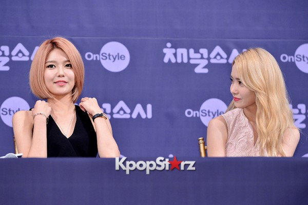 Girls' Generation[SNSD] at a Press Conference of OnStyle Channel SNSD key=>17 count23