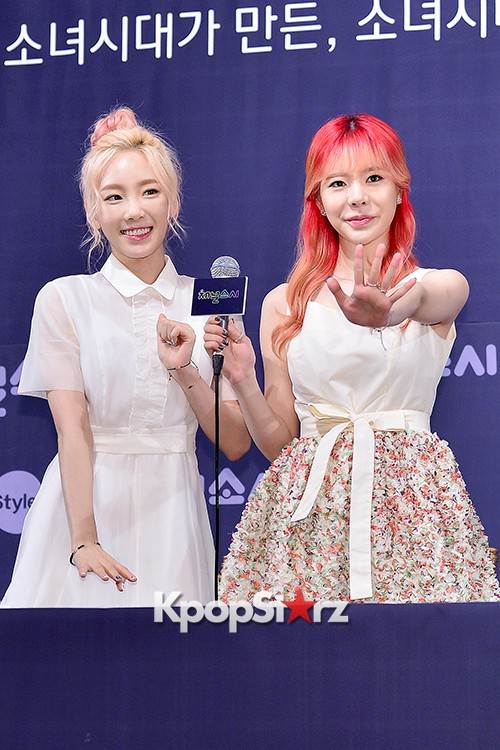 Girls' Generation[SNSD] at a Press Conference of OnStyle Channel SNSD key=>18 count23