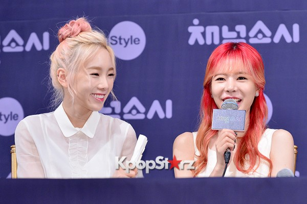 Girls' Generation[SNSD] at a Press Conference of OnStyle Channel SNSD key=>19 count23