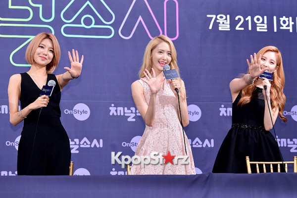 Girls' Generation[SNSD] at a Press Conference of OnStyle Channel SNSD key=>20 count23