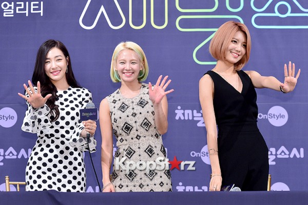 Girls' Generation[SNSD] at a Press Conference of OnStyle Channel SNSD key=>22 count23