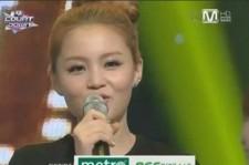 Lee Hi Ranks Number 1 on Mnet 'M! Countdown'