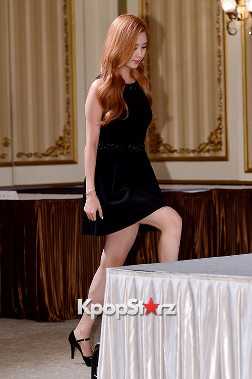 Girls' Generation[SNSD] Seohyun at a Press Conference of OnStyle Channel SNSD key=>1 count23