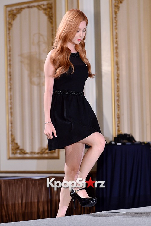 Girls' Generation[SNSD] Seohyun at a Press Conference of OnStyle Channel SNSD key=>2 count23