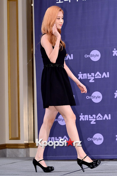 Girls' Generation[SNSD] Seohyun at a Press Conference of OnStyle Channel SNSD key=>3 count23