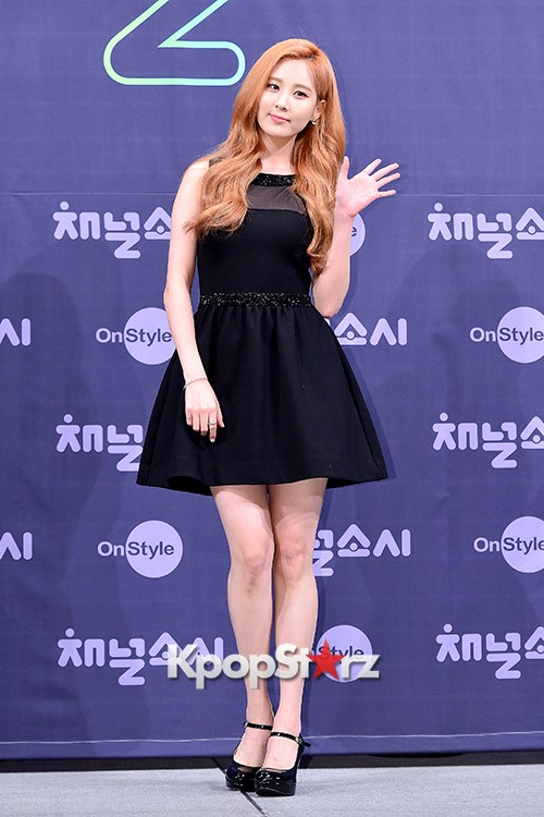 Girls' Generation[SNSD] Seohyun at a Press Conference of OnStyle Channel SNSD key=>5 count23
