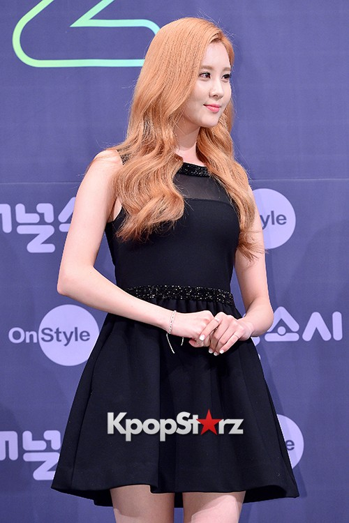 Girls' Generation[SNSD] Seohyun at a Press Conference of OnStyle Channel SNSD key=>6 count23