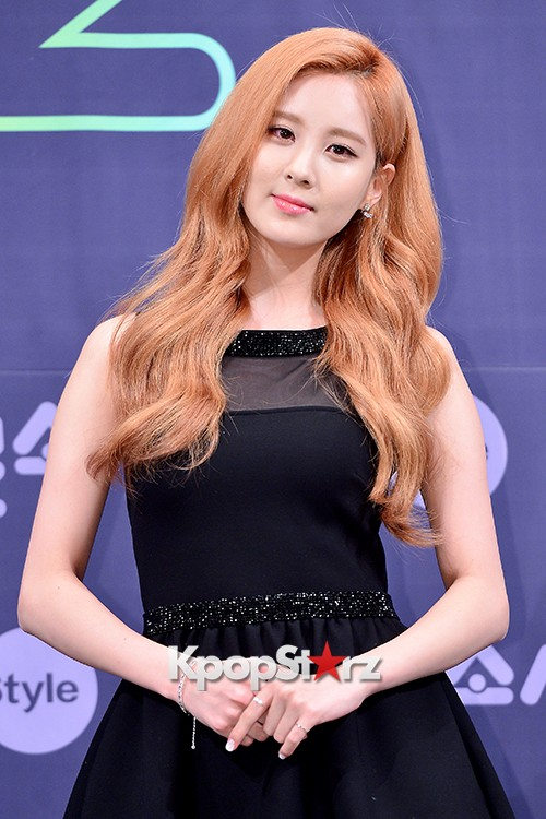 Girls' Generation[SNSD] Seohyun at a Press Conference of OnStyle Channel SNSD key=>11 count23