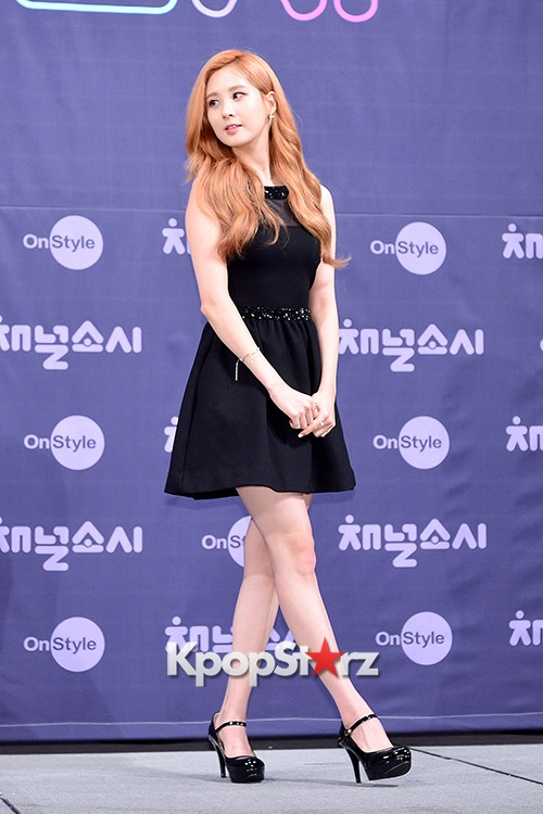 Girls' Generation[SNSD] Seohyun at a Press Conference of OnStyle Channel SNSD key=>12 count23