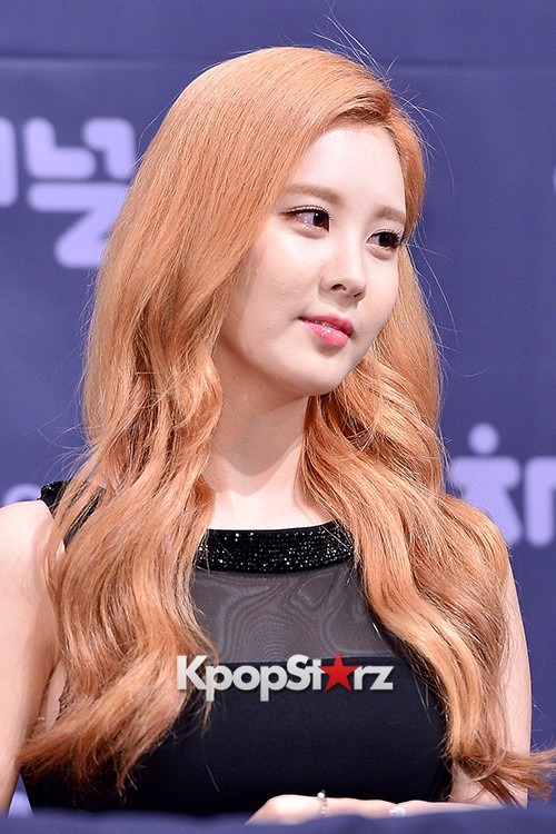 Girls' Generation[SNSD] Seohyun at a Press Conference of OnStyle Channel SNSD key=>13 count23