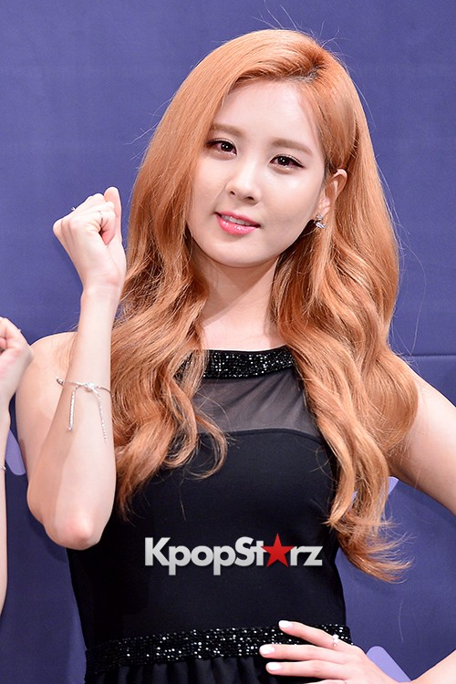 Girls' Generation[SNSD] Seohyun at a Press Conference of OnStyle Channel SNSD key=>14 count23