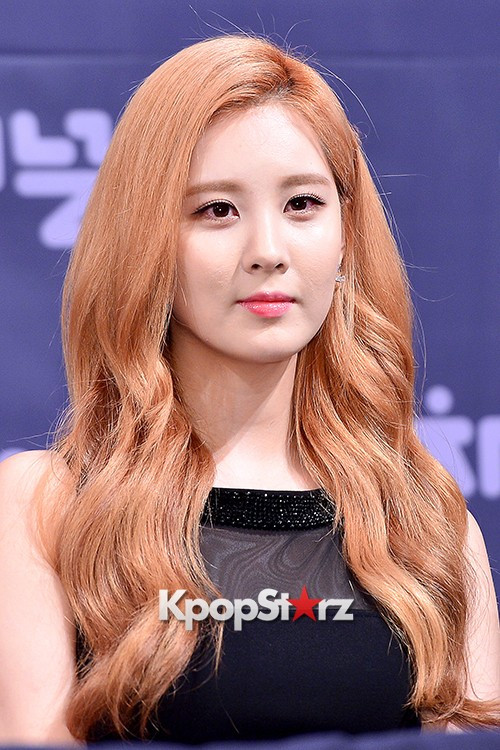 Girls' Generation[SNSD] Seohyun at a Press Conference of OnStyle Channel SNSD key=>16 count23