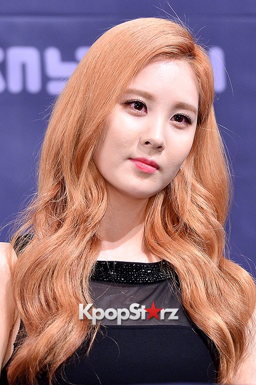 Girls' Generation[SNSD] Seohyun at a Press Conference of OnStyle Channel SNSD key=>17 count23