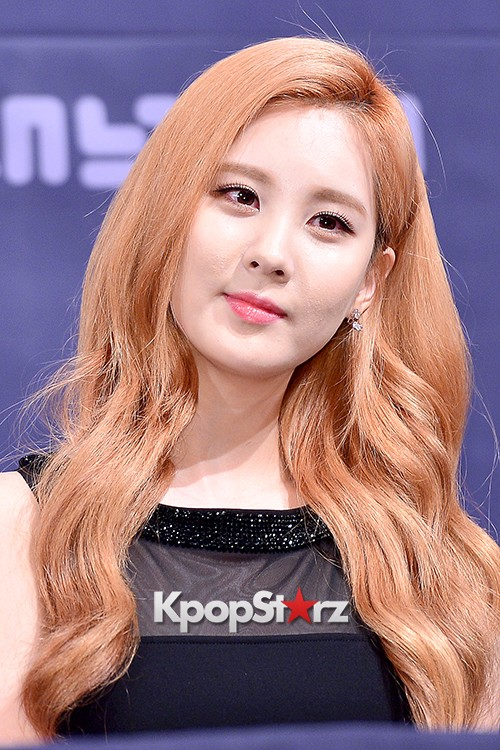 Girls' Generation[SNSD] Seohyun at a Press Conference of OnStyle Channel SNSD key=>18 count23