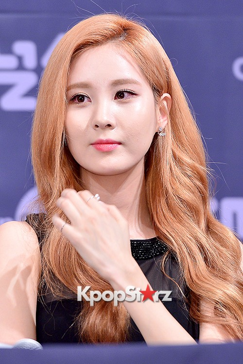 Girls' Generation[SNSD] Seohyun at a Press Conference of OnStyle Channel SNSD key=>20 count23