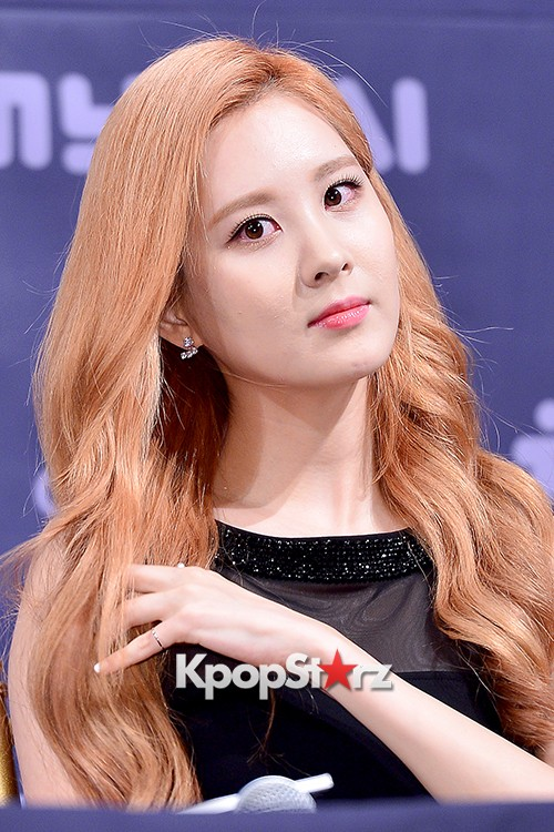 Girls' Generation[SNSD] Seohyun at a Press Conference of OnStyle Channel SNSD key=>21 count23