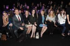 Tom Hiddleston and Elizabeth Olsen with other celebrities.