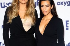 Kim and Khloe Kardashian
