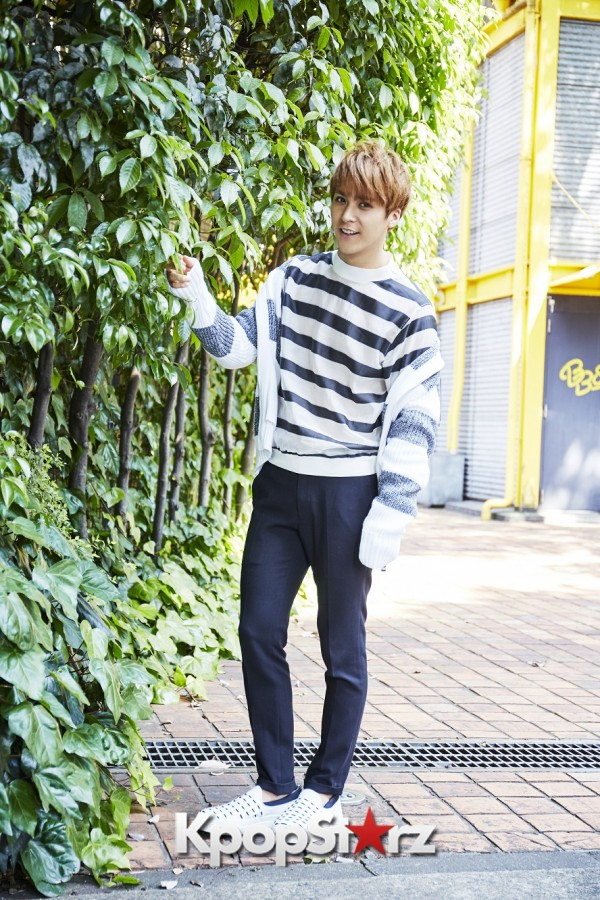 BEAST's Son Dongwoon - Exclusive Photo Shoot with KpopStarz Japankey=>4 count15