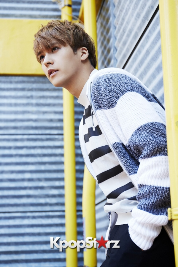 BEAST's Son Dongwoon - Exclusive Photo Shoot with KpopStarz Japankey=>9 count15
