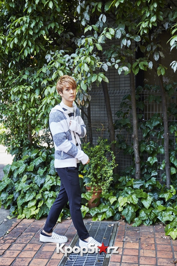 BEAST's Son Dongwoon - Exclusive Photo Shoot with KpopStarz Japankey=>11 count15