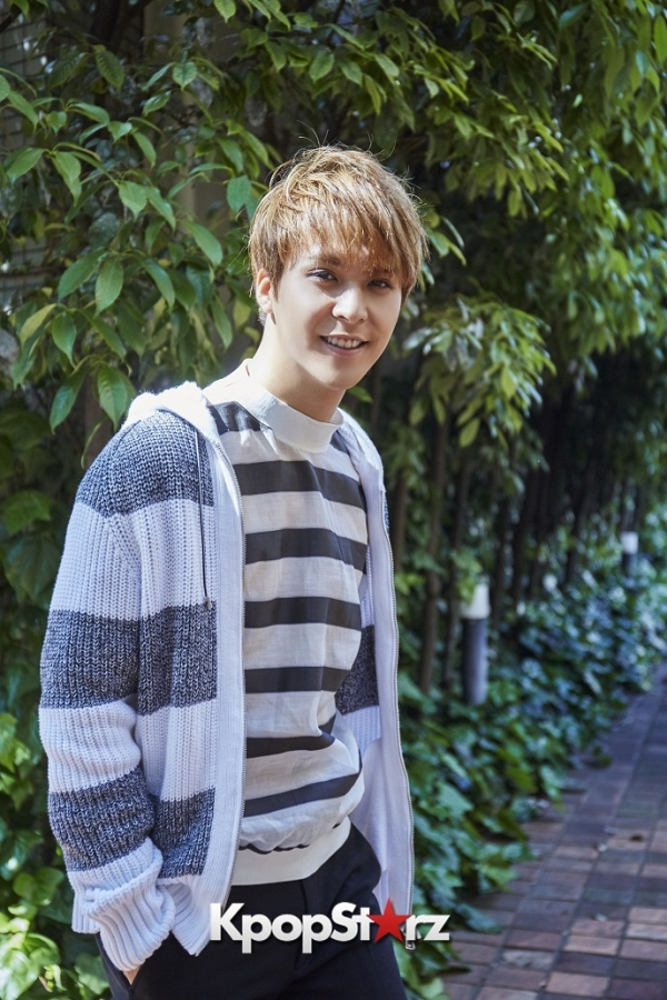BEAST's Son Dongwoon - Exclusive Photo Shoot with KpopStarz Japankey=>13 count15