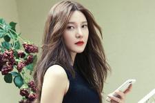 Korean Actress Cha Ye Ryun 1st Look Magazine 2015 Photoshoot Fashion