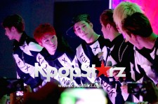 MONSTA X at Klub KCON during KCON 2015 LA.