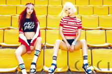 Nine Muses' Minha and Sojin Ceci Magazine August 2015 Photoshoot Fashion
