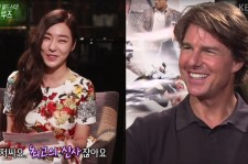 Girls Generation Tiffany and Tom Cruise