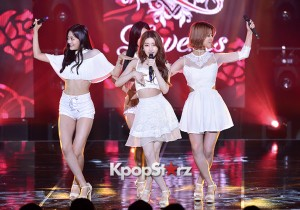 Love-Us [Tickle] at SBS MTV 'THE SHOW All About K-pop'