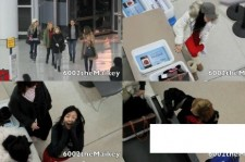 SNSD Captured On Video at the Airport
