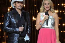 Brad Paisley & Carrie Underwood at 48th Annual CMA Awards (Nov. 5, 2014)
