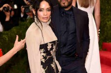 Lenny Kravitz & Lisa Bonet at 'China: Through The Looking Glass' Costume Institute Benefit Gala (May 4, 2015)