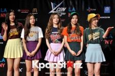 Red Velvet - KCON 2015 LA - August 2, 2015