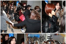 K-POP Stars In France Greeted By Fans At The Airport