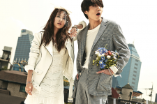 2NE1's Dara And WINNER's Kang Seung Yoon 1st Look Magazine Vol. 93 August 2015
