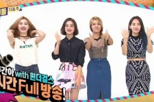 Wonder Girls on 'Weekly Idol'