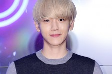 EXO's Baekhyun Attends 2015 SMTOWN Screen Show in Seoul