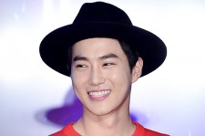 EXO's Suho Attends 2015 SMTOWN Screen Show in Seoul