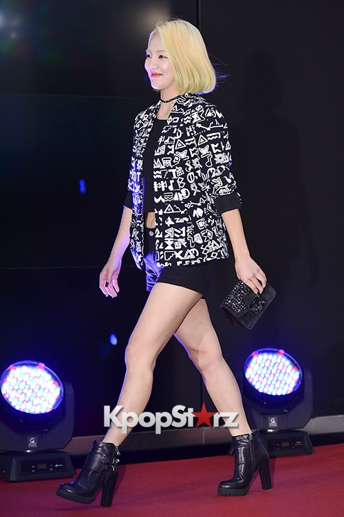Girls Generation[SNSD] Hyoyeon Attends 2015 SMTOWN Screen Show in Seoulkey=>4 count18