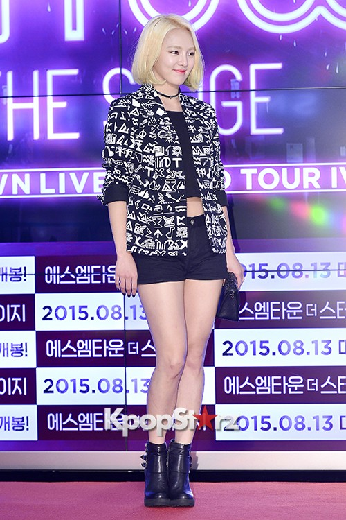 Girls Generation[SNSD] Hyoyeon Attends 2015 SMTOWN Screen Show in Seoulkey=>5 count18