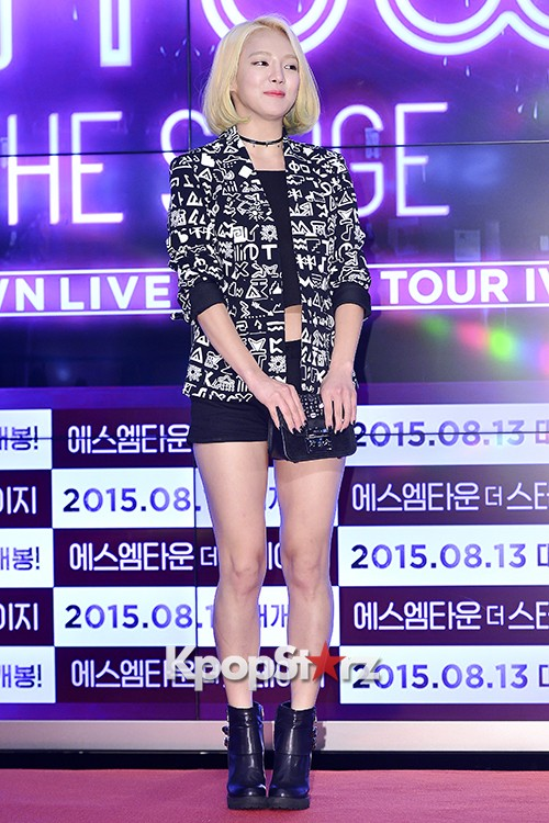 Girls Generation[SNSD] Hyoyeon Attends 2015 SMTOWN Screen Show in Seoulkey=>6 count18